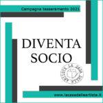 Diventa socio - Campagna tesseramenti 2021