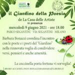 9 6 21 Il Giardino della Poesia al parco Segantini di Milano