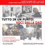 Tutto in un punto: voci dalla DAD – testimonianze delle famiglie (3^ sessione 31 5 21)