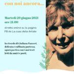 29 6 21 «Giuliana, con noi ancora...» - diretta online in omaggio a Giuliana Panzeri
