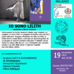 19 11 21 BCM - Agnese Coppola- Io sono Lilith e «La sete della sera» omaggio a Maria Cumani