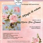 13 11 21 Vernissage «Magie di colore» di Maria Rita Demuti